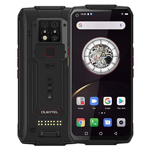 OUKITEL WP7 Unlocked Rugged Smartphone 8000mAh Battery 128GB+6GB Cellphone Night Vision Camera 48.0MP+16.0MP Global 4G LTE Octa-Core 6.53 inch GPS NFC