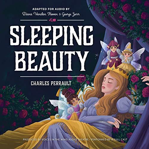 Diseño de la portada del título Sleeping Beauty (Dramatized)