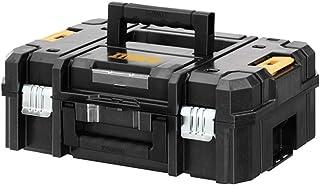 Dewalt DWST1-70703 TStak II Power Tool Storage Box 13.5L Capacity T-STAK Case, Black