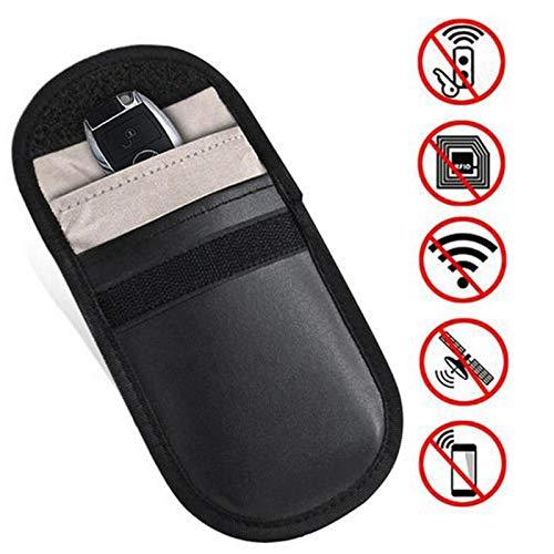 Yusheng Keyless Go - Funda protectora para llaves de coche con bloqueo de señal RFID, portátil, mini bloqueador de señales, funda de protección contra la radiación