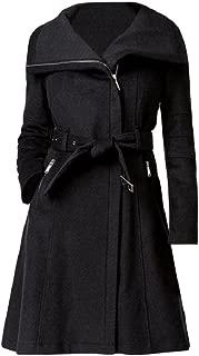 Charcoal Gray A-Line Coat