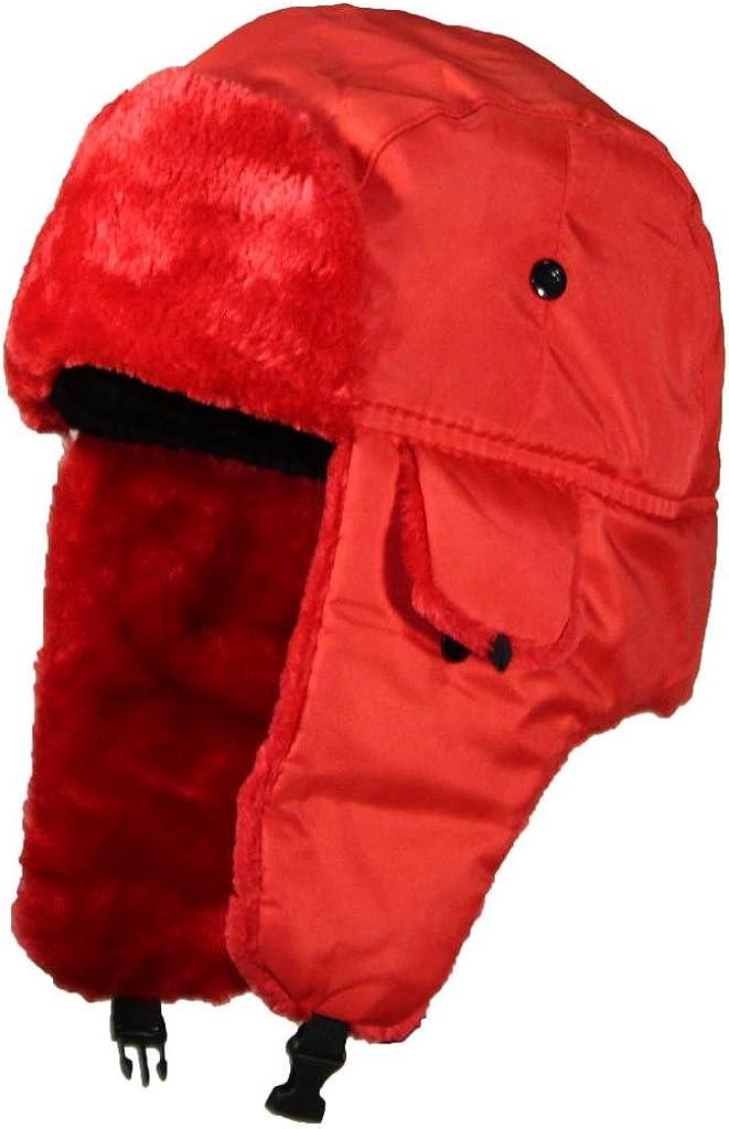 Best Winter Hats Max 66% OFF Solid Color Ushanka One Trapper Cap Siz Hunter 25% OFF