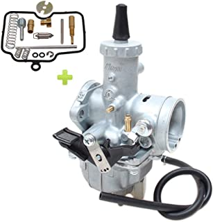 Hwbnde VM26 Carburetor, Works with Mikuni Carb Honda Hawk Go-kart Taotao ATV Dirt CRF KLX TTR XR Pit Dirt for PZ30 150cc 160cc 200cc 250cc 30mm