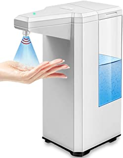 アルコール噴霧器 アルコールディスペンサー オートセンサー 自動誘導 オートディスペンサー500ml 大容量 IPX4防水 吐出量2段階切替 透明ボトル 残量確認可 玄関/キッチン/洗面所に適用 日本語取扱説明書付き