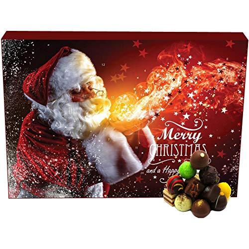 Hallingers Pralinen-Adventskalender - Make a Wish (Advents-Karton)