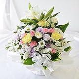 花由 お供え生花アレンジメント ユリ入りSサイズ ミックス マケプレプライム便 [冷蔵便]でお届け
