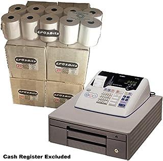 eposbits® marca rollos para Casio TE-M80, TEM80te m80TEM-80, TM80–80TM-80caja registradora–80rollos