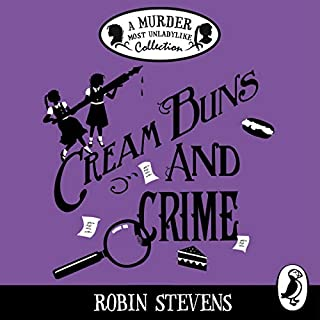 Cream Buns and Crime cover art