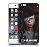 Head Case Designs Officially Licensed AMC The Walking Dead Carl Season 8 Portraits Soft Gel Case Compatible with Apple iPhone 6 Plus/iPhone 6s Plus