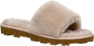 CUSHIONAIRE Women's Mushi Cozy Slipper +Memory Foam