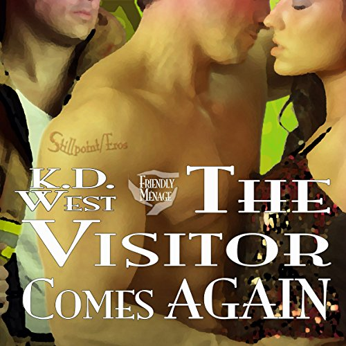 The Visitor Comes Again audiobook cover art