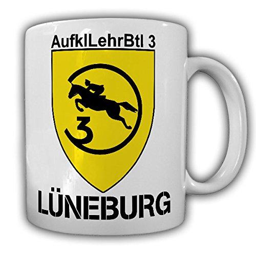 AufklLehrBtl 3 Lüneburg_Bundeswehr Wappen Abzeichen Aufklärungslehrbataillon Theodor-Körner-Kaserne Kaffee Becher #13545