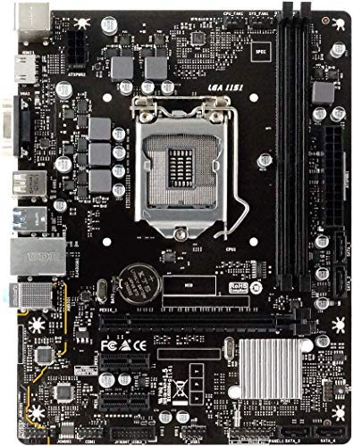 Placa mãe Biostar H310MHP H310 LGA 1151 DDR4 USB 3.2
