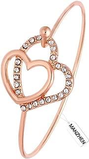 open heart mom bracelet