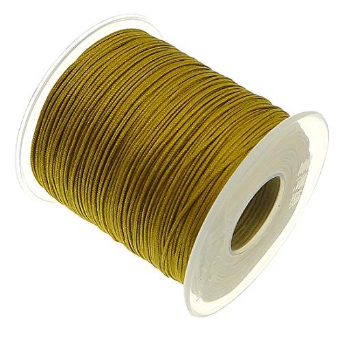 My-Bead 90 m nylonband koord 1 mm goud waterbestendig nylon koord topkwaliteit sieraden maken DIY