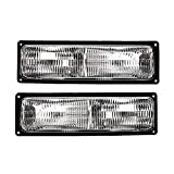 Epic Lighting OE Style Replacement Side Marker Signal Lights Assemblies Compatible with 1994-2002 Blazer C10 K10 Suburban Tahoe Yukon Left Driver & Right Passenger Sides Pair