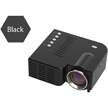 UC28C Proyector, Proyector Mini Portátil Proyector de Cine en Casa ...