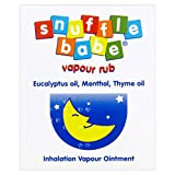 Snufflebabe Vapour Rub for Babies, 24g - Pack of 6