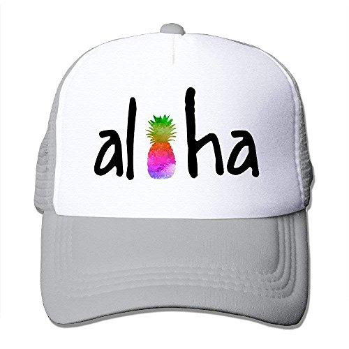 Wdskbg Aloha FruPineapples Unisex Trucker Hat B-Boy Mesh Caps Hats