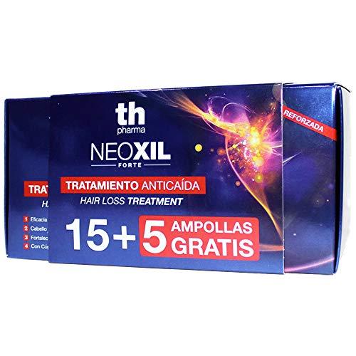Thader Th Pharma - Tratamiento Capilar Anticaída Neoxil Forte Unisex Hiporalergénico Adaptado a Cuero Cabelludo Sensible, 20x10ml