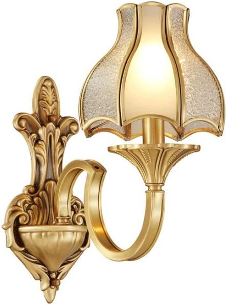 We OFFer at cheap prices Wmdtr European E14 Wall Lamp Limited time sale Copper+ Light S Creative Glass