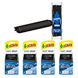 LITTLETREESCar Air Freshener | Vent Wrap Provides a Long-Lasting Scent, Slip on Vent Blade | New Car Scent, 4-Packs...