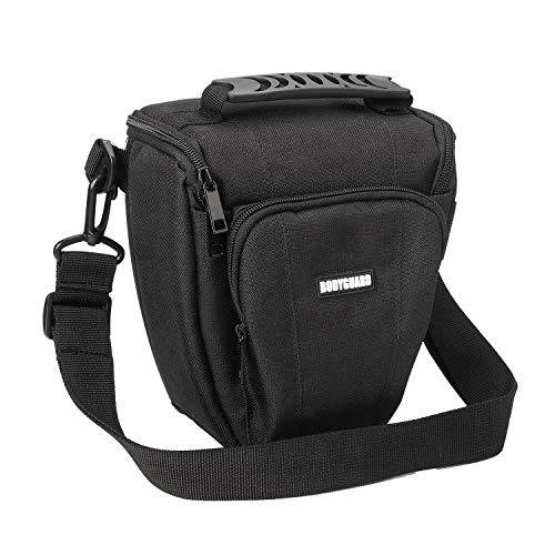 Bodyguard Borsa fotografica SLR Colt Easy nero, ADATTA PER Nikon D800 D3500 D5300 D5600 D7500 Canon EOS 2000D 4000D 750D 200D 77D 80D