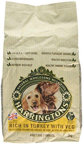 Harringtons Adult Hundefutter Mit Truthahn Und Gemüse (2Kg) (Packung mit 6)