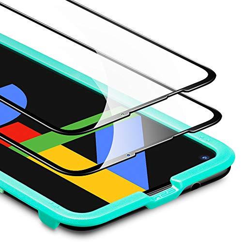 ESR Pixel4a フィルム Google Pixel 4a ガラスフィルム [端から端までカバー] [傷や圧力に強い] [気泡なし] [ケースとの相性抜群] 2枚入り