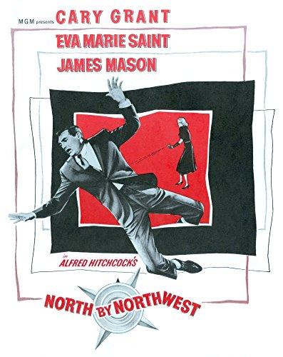 North By Northwest Cary Grant Eva Marie Saint 1959 Movie Poster Masterprint (11 x 17)