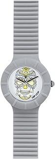 Orologio HIP HOP per donna SKULL con cinturino in silicone, glam, movimento SOLO TEMPO - 3H QUARZO