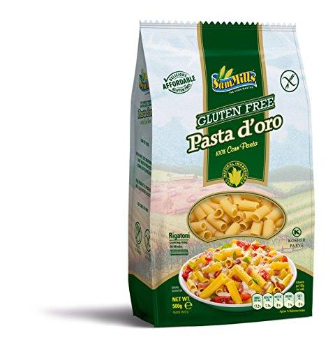 Pasta d´oro – Glutenfreie Nudeln Rigatoni aus Maismehl | 500 g Packung