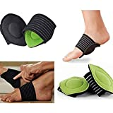 Healthy Food - 1 Pair Foot Insoles Arch Support Plantar Fasciitis Heel Aid Feet Cushion Fallen Heel Pain Relief Beauty Poduct
