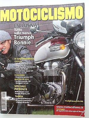 MOTOCICLISMO n.11 nov 2000 Triumph Bonnie-Ducati Monster-Yamaha R6 [SR]