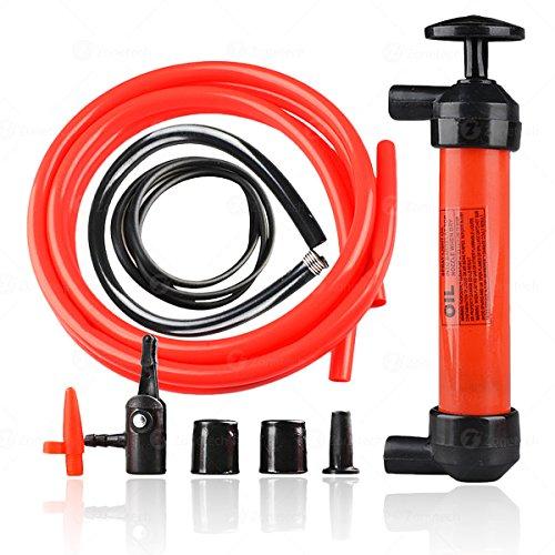 Siphon Pompe à air liquide à gaz - Zone Tech - Pompe à air liquide - Fluides - Essence - Voyage d'urgence - Manuel de voiture