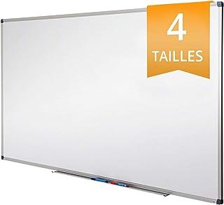Tableau Blanc Office Marshal® | Tableau Magnétique Élu Meilleur Rapport Qualité/Prix | Tableau Effaçable Aimanté | Série P...