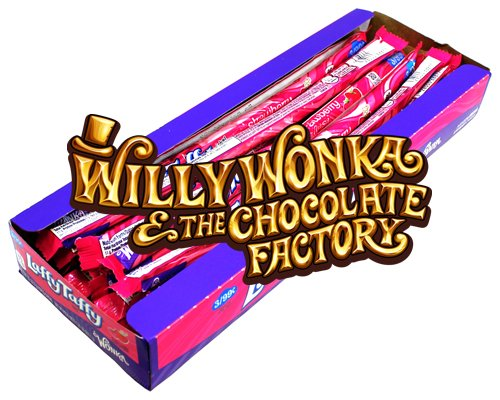 Willy Wonka Laffy Taffy Strawberry Ropes 24er Packung | Dipworld Edition