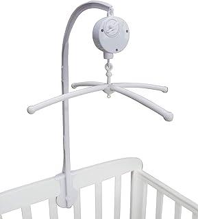 Porte-cloche pour lit de bébé Support de bras de boîte à musique 28 pouces