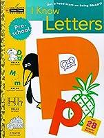 I Know Letters (Preschool) (Step Ahead Golden Books Workbooks)