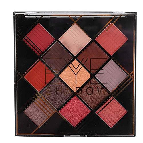 13 Farben Beauty Lidschatten Palette Langlebige Matte Perlmutt Lidschatten Puder Make-up Make-up-Tools für Weihnachten/Datum/Veranstaltung, eine Vielzahl von Farboptionen(04#)