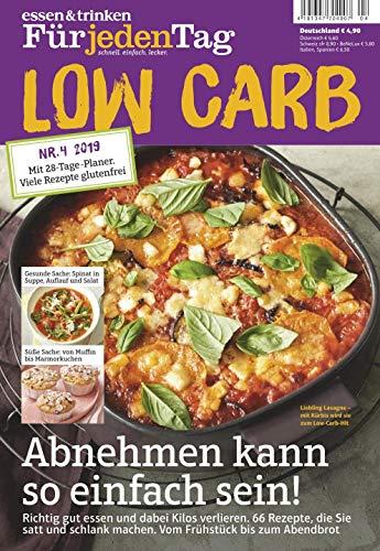 """essen & trinken für jeden Tag - Low Carb 4/2019 """"Abnehmen kann"""""""