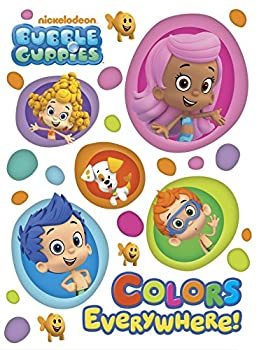 Colors Everywhere!  Bubble Guppies   Board Book