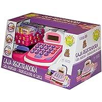 Tachan-Caja registradora Little Home, Color Rosa, (CPA Toy Group 74014263)