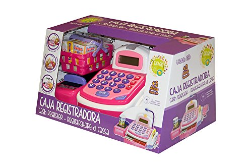 Tachan-Caja registradora Little Home, Color Rosa, (CPA Toy Group 74014263)