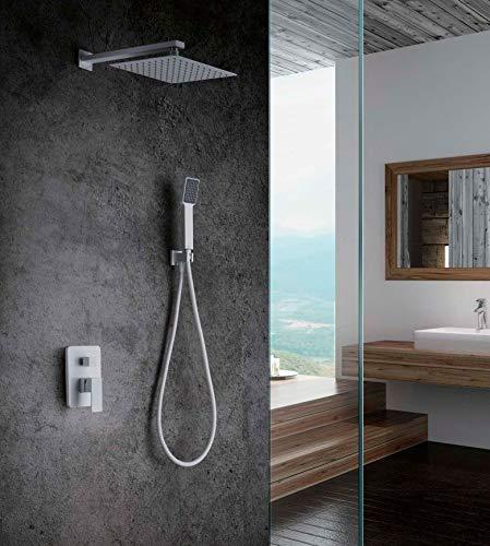 Conjunto ducha empotrado Imex Dublin Blanco GPE006-BL