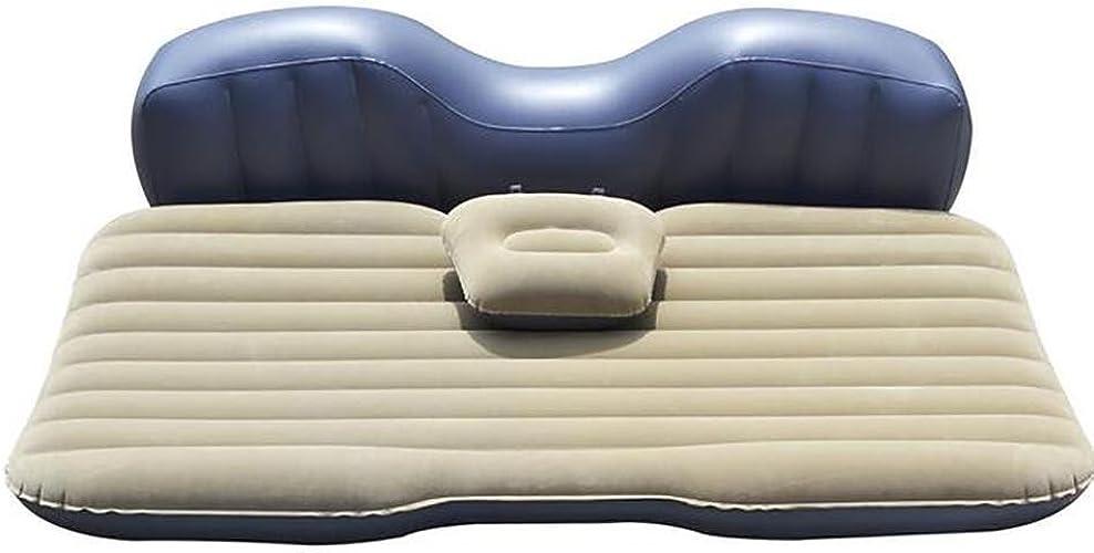 Coussin gonflable de voiture   voiture voyage matelas gonflable   lit gonflable camping siège arrière étendu matelas avec 2 oreiller parent ou ahommet
