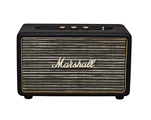 Why Should You Buy Marshall 04091802 Acton Wireless Bluetooth Speaker Black