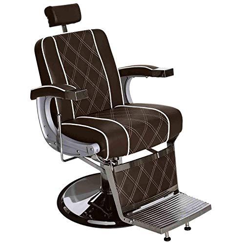 Barberpub Friseurstuhl Friseureinrichtung Friseursessel Bedienungsstuhl 3810BR Braun