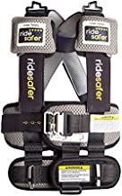 Ride Safer Delight Travel Vest, Large Grey – Includes Tether and Neck Pillow