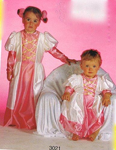 princesse rose et blanche taille 1 an deguisement costume enfant